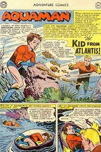 Adventure #269 Aquaman Splash Page