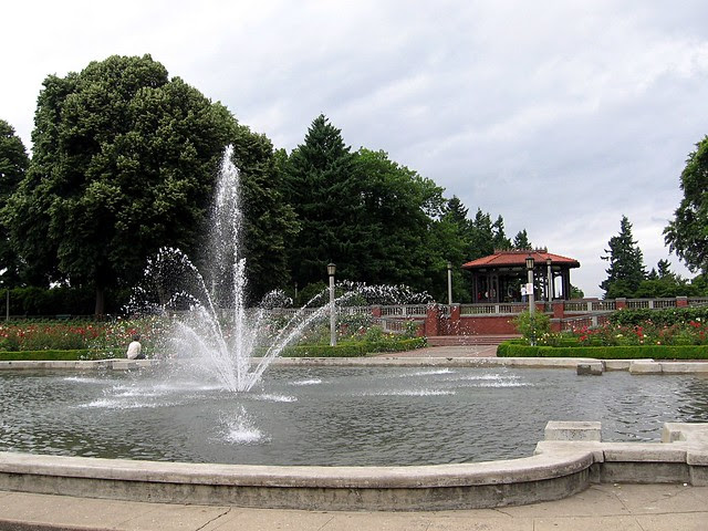 Fountain, Peninsula Park