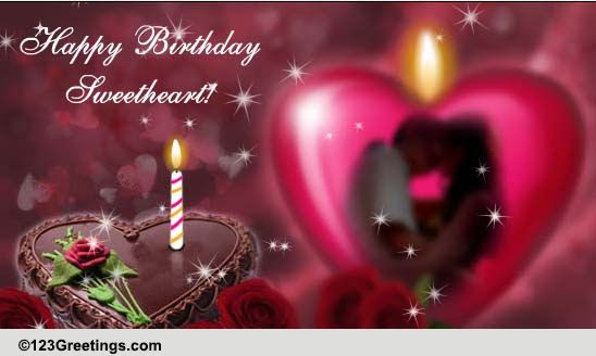 Happy Birthday Sweetheart Free For Husband Wife Ecards 123
