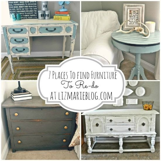 Furniture 175: 7 Places To Find Furniture To Re-do {For