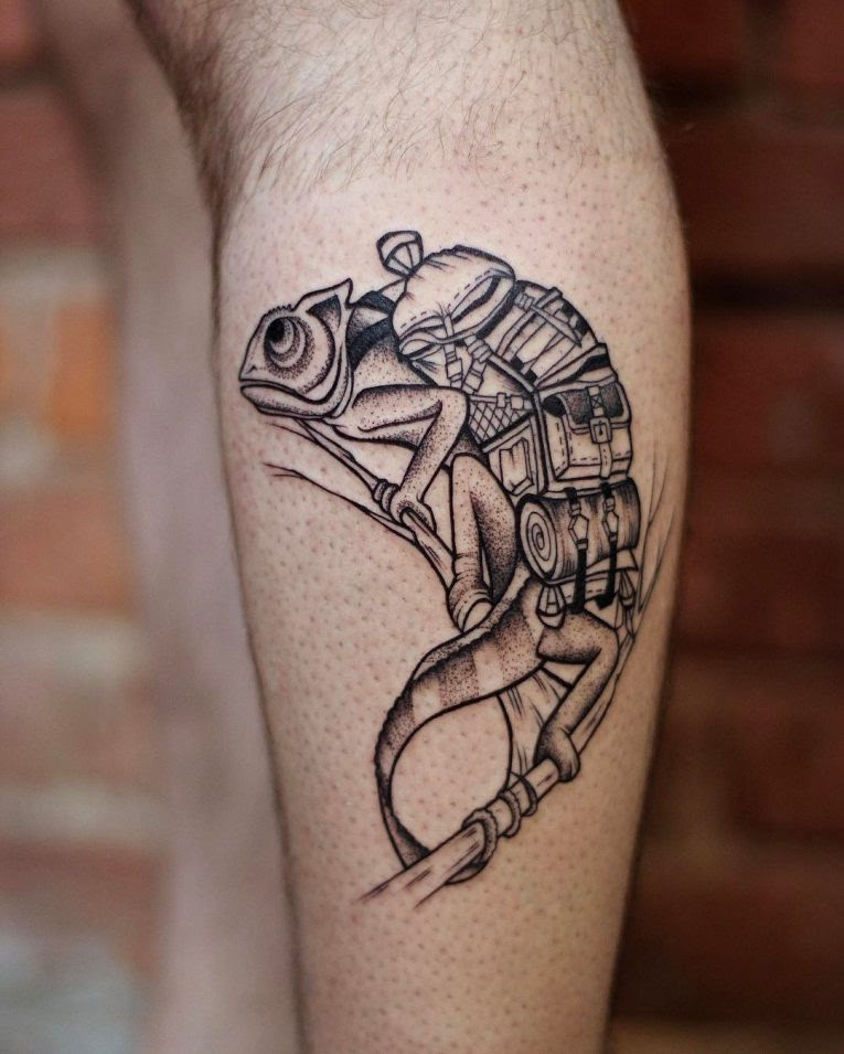 60 Colorful Chameleon Tattoo Ideas Designs That Will Make You Smile