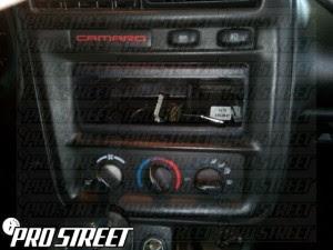 Chevy Camaro Stereo Wiring Diagram My Pro Street
