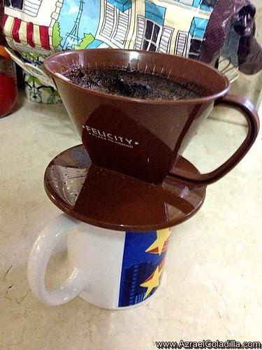 Coffee drip from Saizen