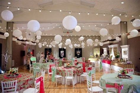 cute cultural hall wedding decor    LDS (Latter day