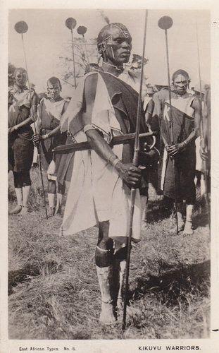Kenya Kikuyu Warrior