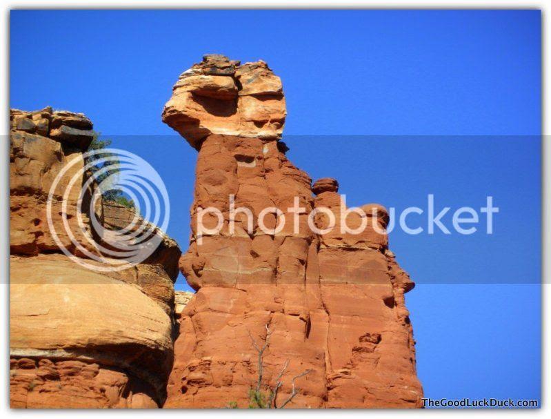 Spire, Boynton Canyon, Sedona, http://thegoodluckduck.com