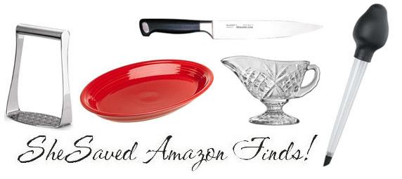 Amazon Deals Thanksgiving Kitchen Accessories - SheSaved