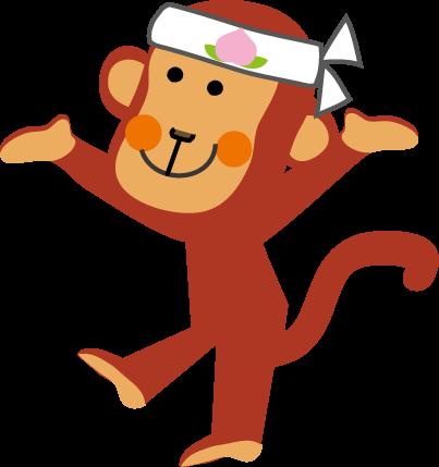 桃太郎犬キジ猿のイラストカット挿絵無料イラスト