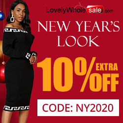 Need a New Year outfit idea? See our top picks for you! Click use our special code NY2020 to enjoy