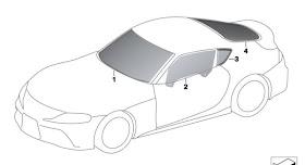 Sketsa Mobil Supra