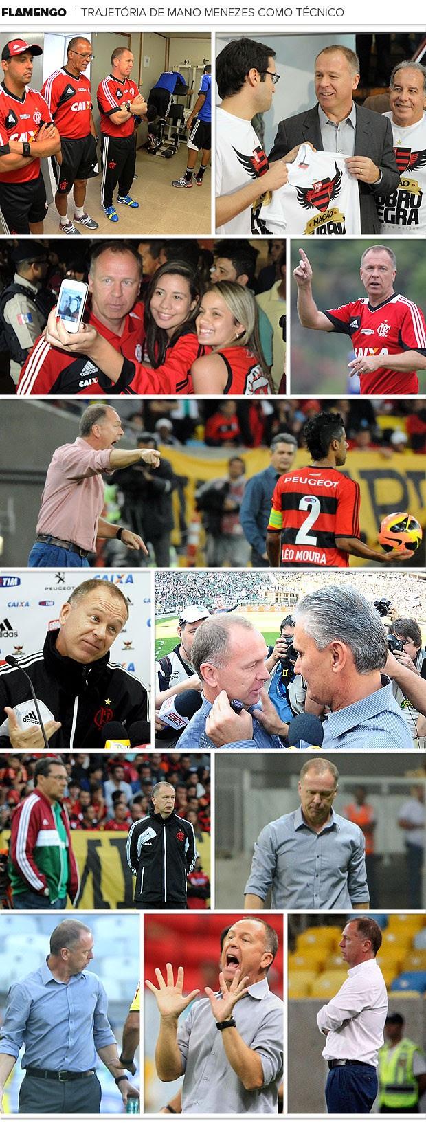 Mosaico Mano Menezes Flamengo (Foto: Editoria de Arte)