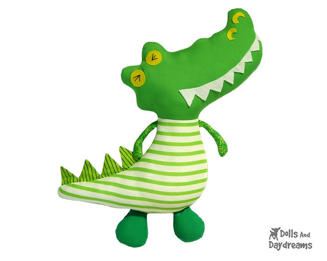 Crocodile Sewing Pattern