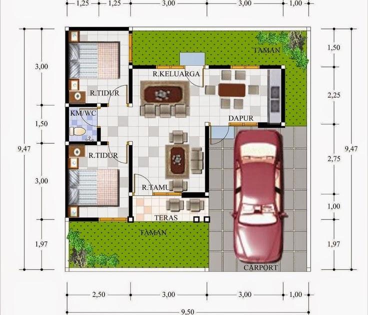 Desain Rumah Type 36 Luas Tanah 70 - Quotes 2019 a