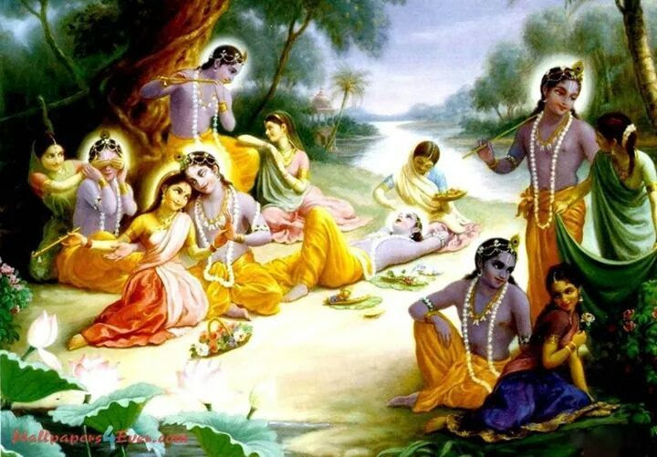 "Lord Krishna had 16,108 wives technically: But Missionaries,Mlecchas and even ignorant Hindus tried to portray and make fun of Sri Krishna as playboy without understanding the core essence of Hindu philosophy.  Krishna was a compassionate person.There is a story that why Krishna had 16,000 wives. Some people even joke about it and say he was the biggest playboy the earth has ever seen. But which society, whether past or present, would allow a person to declare, ""I have 16,000 wives,"" and for those 16,000 wives to accept one husband? Is it really possible to have a family with so many wives?  The story is that these women were kidnapped by a king called Narakasura and liberated by Krishna. In Eastern society and also in Western society the belief is that marriages are made in heaven. When people have been kidnapped and kept in bondage in another kingdom by another king, their purity and chastity will definitely be doubted. In prison anything can happen – rape,sexual assault etc. When Krishna liberated the women he knew they would be rejected by their society, families and friends upon their return home because they were believed to be no longer pure(nothing different from today's society). So he married all of them. Did he marry out of passion or out of compassion?   Society accepted it because they knew that Krishna's love was not physical or carnal. His character was such that people knew he was providing shelter and support. Krishna himself had eight wives to whom he was legally married and he provided social protection for the 16,000 wives so that they would be able to live in dignity. Krishna radiated love. When we speak of love we always think of carnal, physical love, but love does not mean a physical relationship. These are very gross definitions of love. Real love is transcendental.   Radha was supposed to be Krishna's lover. She was many years older than he was and married to someone else, yet today we do not remember the names of Krishna's other wives other than Rukmini and Sathyabama. In India, songs of love are dedicated to Radha and Krishna to show respect for the love that existed between them. We bow our heads to that idea, that belief, that philosophy. And why go back so far? Read the story of Mira. She was born a few hundred years ago. Her love for Krishna was so intense that at the time of her death, her physical body dissolved into the statue of Krishna. She did not die a physical death as we do. The force of her love was such that her physical body merged with the statue of Krishna. Can we call this physical love? Can we understand such an expression of love? No, we cannot. Yet when we hear about it, we respect it and bow our heads in reverence. Such love is definitely transcendental."