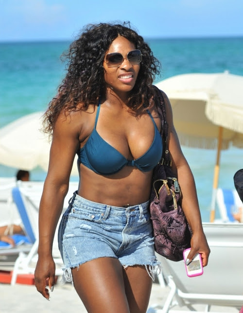 Serena Williams American Professional Tennis Player very hot and sexy wallpapers