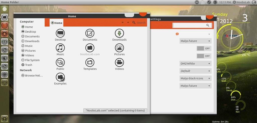 ubuntu malys themes