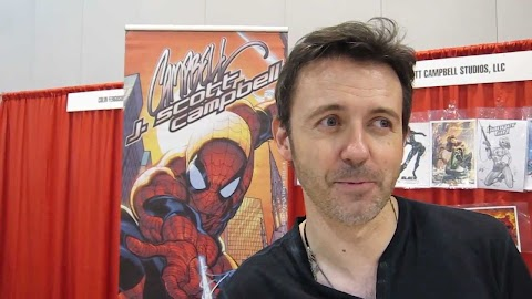 J Scott Campbell Comic Con
