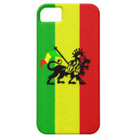 Reggae Lion iPhone 5 Cover