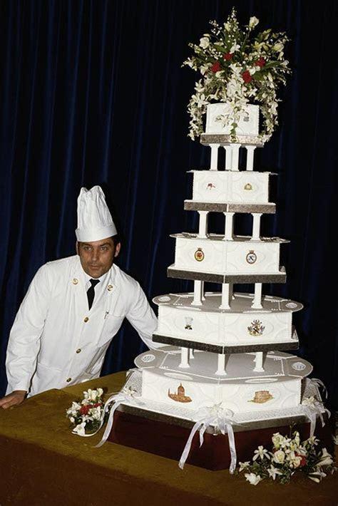 Prince Charles and Princess Diana's wedding cake slice