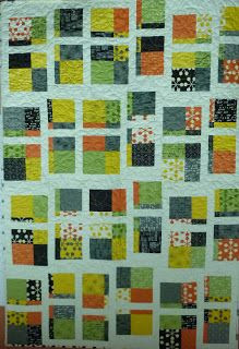 Linda's Quiltmania: Fractured Nine Patch, featuring Coma