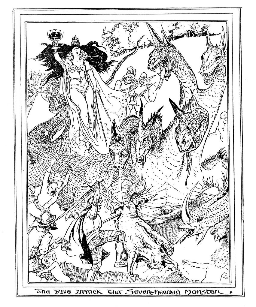 Henry Justice Ford - The pilgrim's progress by John Bunyan ; an edition for children arranged by Jean Marian Matthew, 1922 (illustration 6)