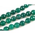 Jad verde smarald sfere microfatetate 8mm 5b