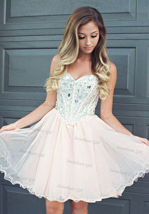 sweetheart girl  cute aline sweetheart neckline tulle