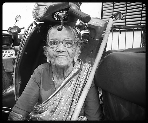 The Old Lady Of Chinchpokli Shot By Marziya Shakir 3 Year Old by firoze shakir photographerno1