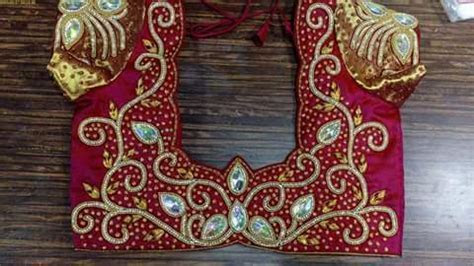 Fashion Accessories   Aari Embroidery Blouse Service