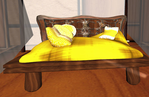 50L Weekend Fever Just My Imagination yellow bed