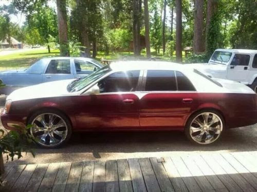Find New 2001 Cadillac Deville Dhs Show Car Custom Everything One Of A Kind Cheap 24 Rim In
