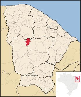 Localização de Monsenhor Tabosa