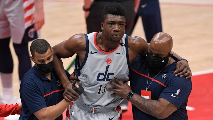 Wizards center Thomas Bryant likely out for season with partially torn ACL
