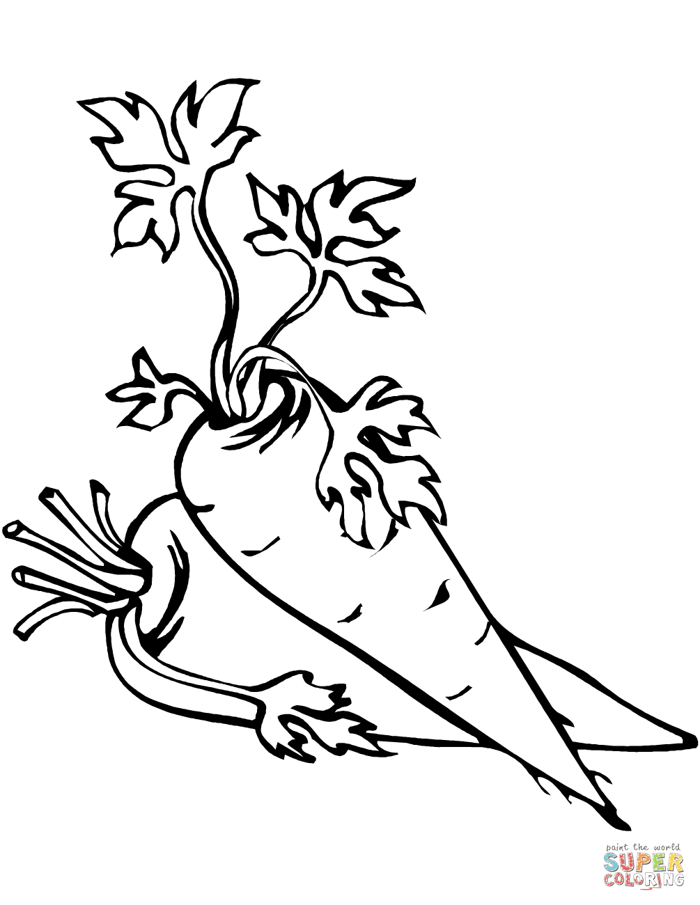 45 Coloring Pages Carrots For Free
