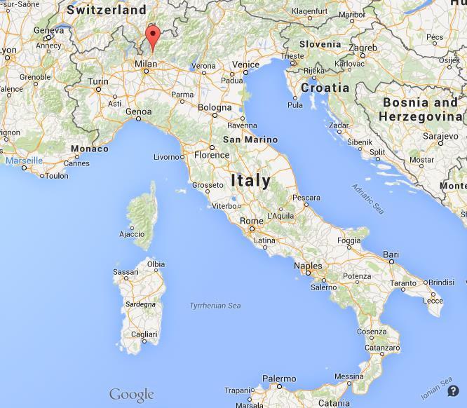 Resultado de imagen de lecco italy map