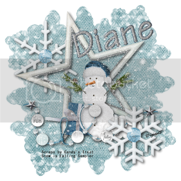 Snow is Falling - Diane