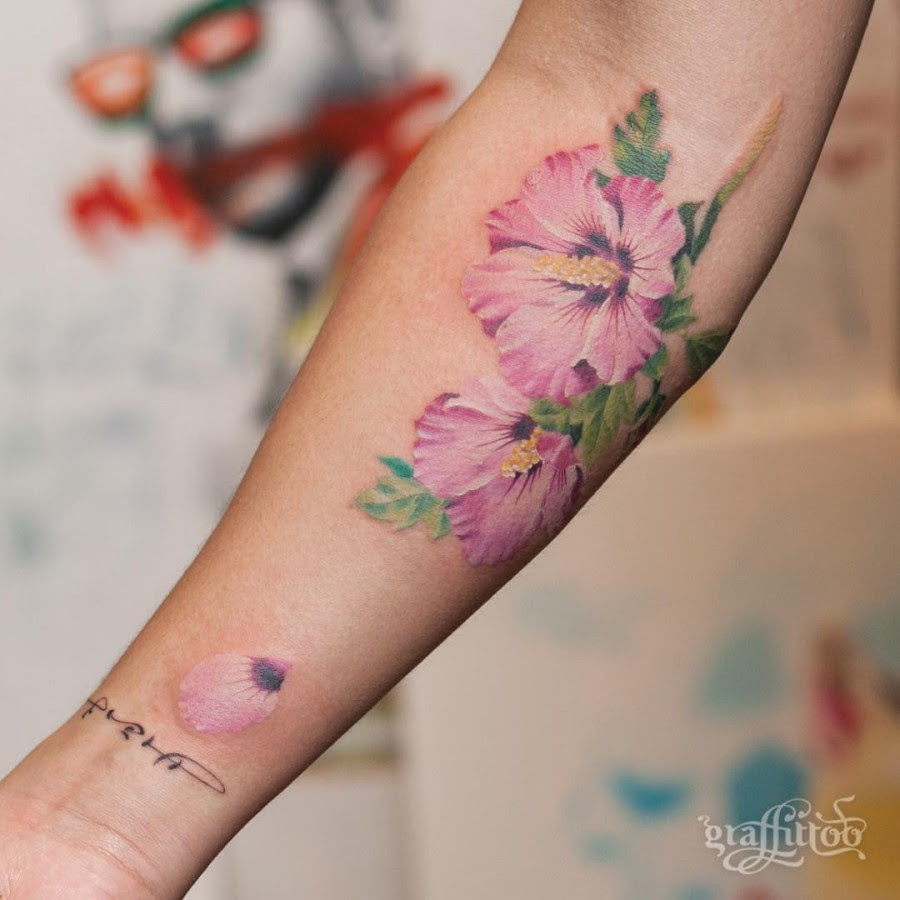 105 Sensational Watercolor Flower Tattoos Page 4 Of 11 Tattoomagz