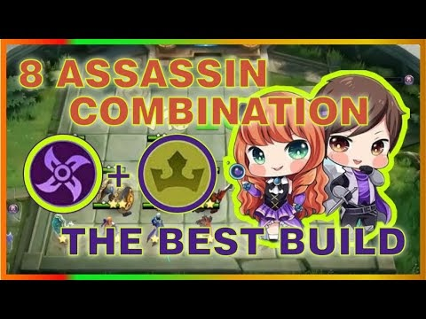 8 ASSASSIN COMBO WITH 1 HP COMEBACK | TOP GLOBAL Magic Chess Strategy | MRL GAMING