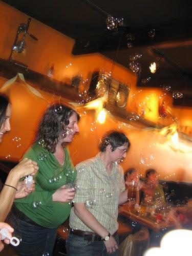 Emily & Rachel bubble toast