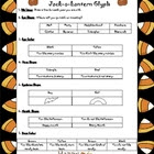 Jack-o-lantern Halloween Glyph