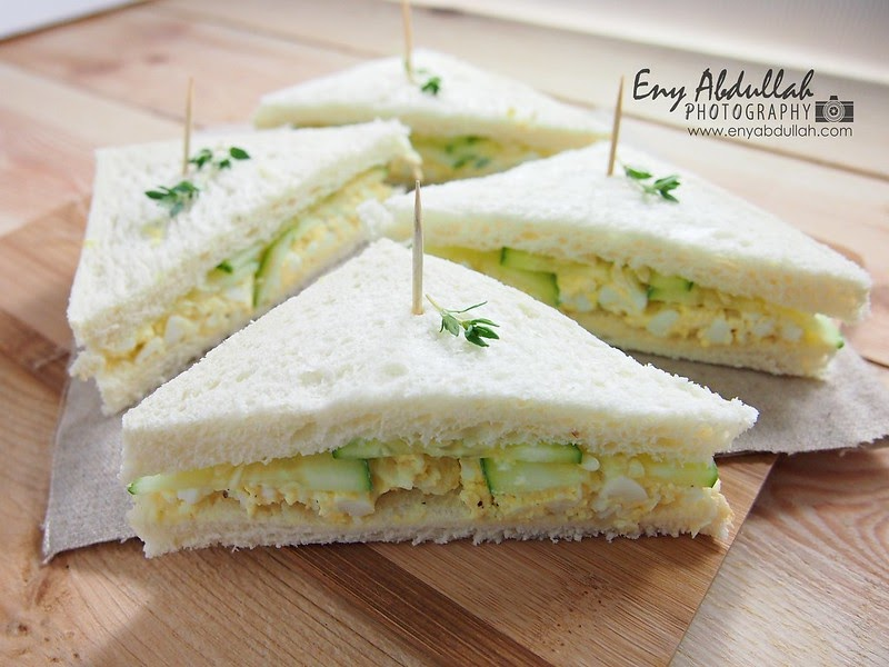 Sandwich Salad Telur | EnyAbdullah.Com
