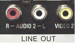 cassette deck line out