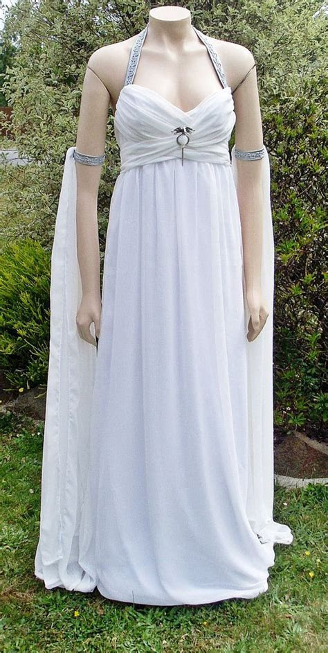 RESERVED Daenerys Targaryen Khaleesi Wedding Dress Final