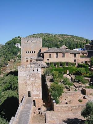 The world renowned architectural splendor of the Alhambra in Granada