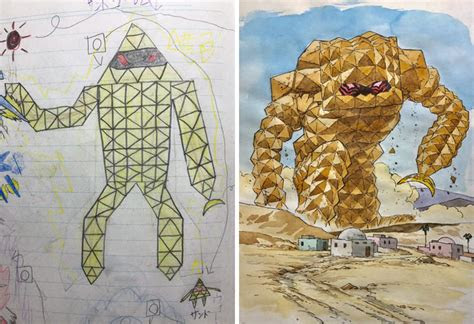 awesome anime character designs  kids drawings