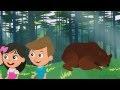 Stary niedźwiedź mocno śpi - Polskie Piosenki dla małych dzieci