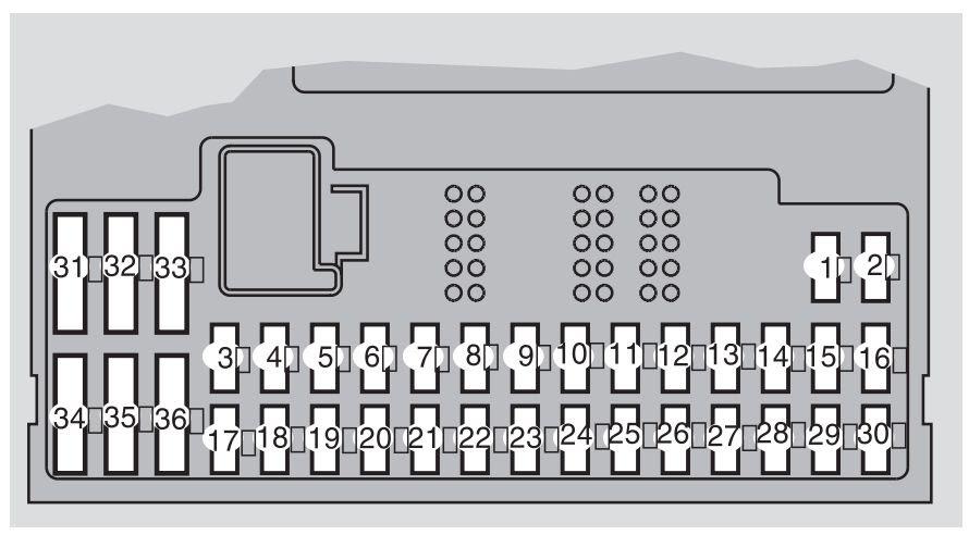 Volvo S60 Mk1 First Generation 2007 Fuse Box Diagram Auto Genius
