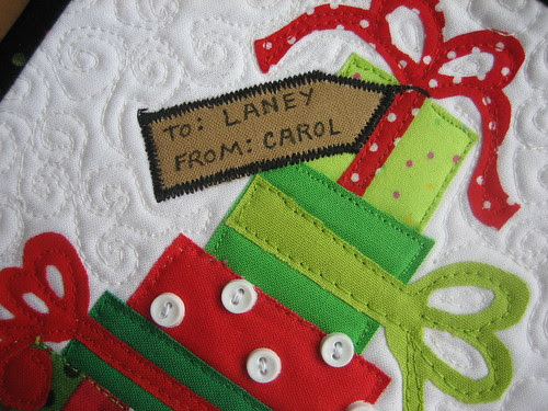 The gift tag