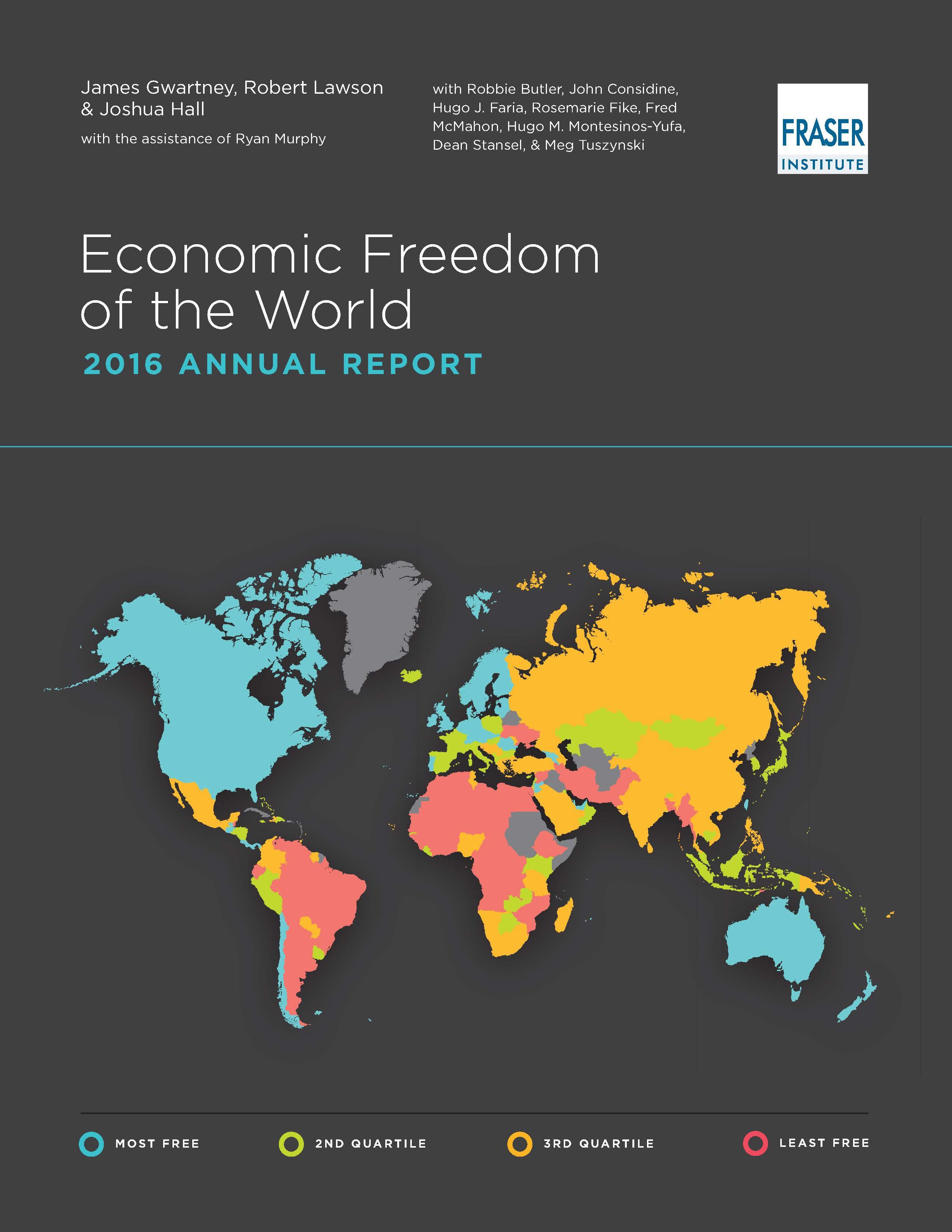 Economic Freedom of the World 2016