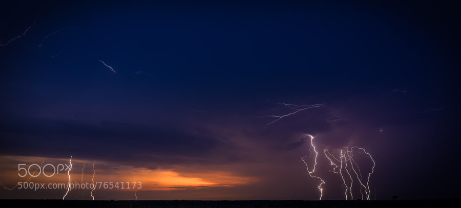 Photograph Thunderscape #1 by Andrey Serbovets on 500px